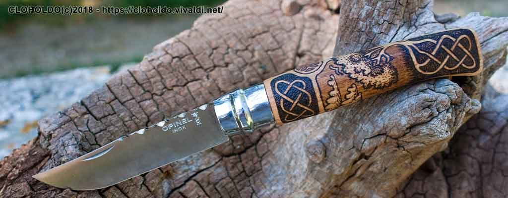 Celtic Tree knife