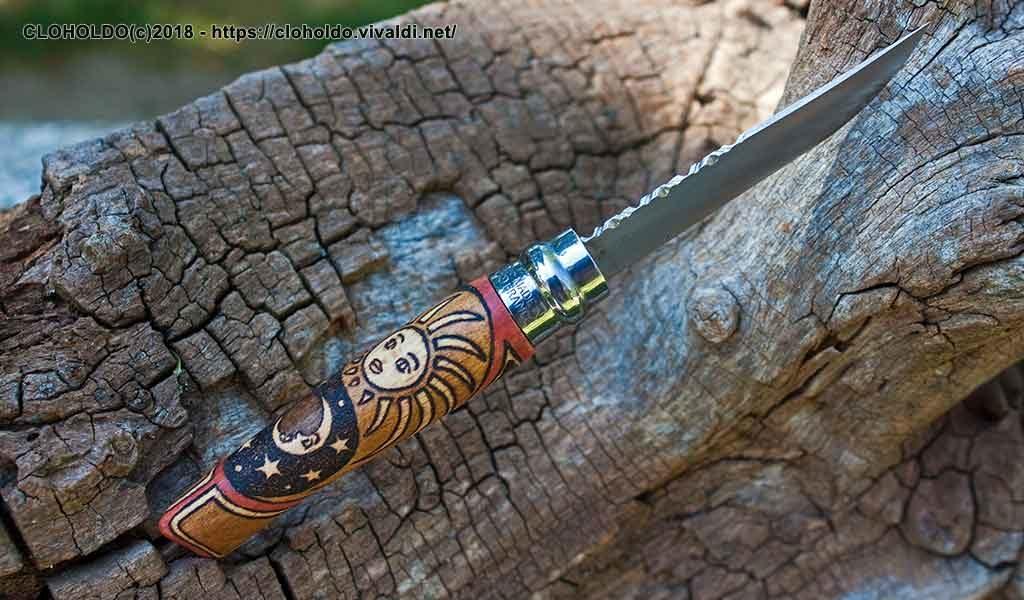 Guilloche blade